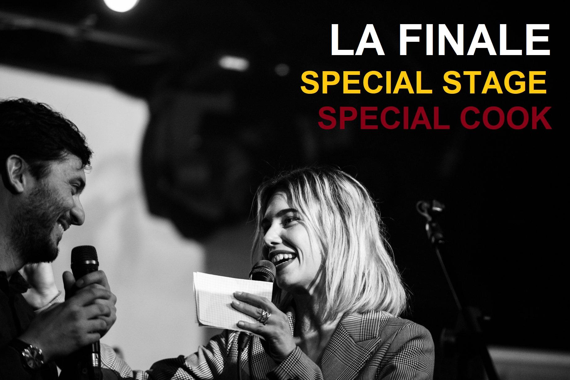 Special Stage e Special Cook – La Finale 2018